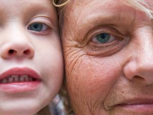 Sheasmör är bra for mjuk hud hos båda barn och vuxna